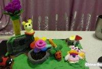 当儿童编程遇见艺术~动感花园(编程+彩泥手工)科学小制作详细教程