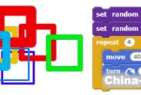 2018年ScratchMaths编程第17课:使用自定义模块描画