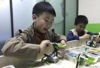 中国特稿:中国朝AI狂奔 小孩也学编程