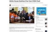 北极星-美国发布STEM教育战略